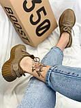 Adidas Yeezy Boost 350 Earth (светло-коричневые), фото 3