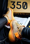 Adidas Yeezy Boost 350 Clay (коричнево-оранжевые), фото 6