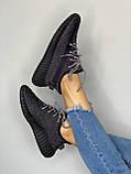 Adidas Yeezy Boost 350 Black (черные) (Full Ref), фото 6