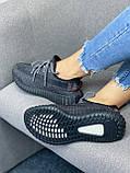 Adidas Yeezy Boost 350 Black (черные) (Full Ref), фото 9