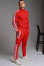Спортивный костюм с лампасами. (на манжетах или прямые штаны)