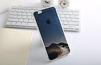 """Премиум силиконовый чехол """"Горы"""" для Iphone 6 Plus"""