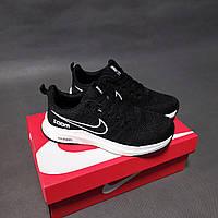 Мужские кроссовки Nike Zoom черные найк зум