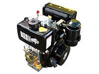 Двигун дизельний BIZON 186FЕ (під шліци 25 мм, 9 л. с., стартер), фото 1
