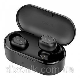 Наушники Bluetooth беспроводные QCY QS2 black