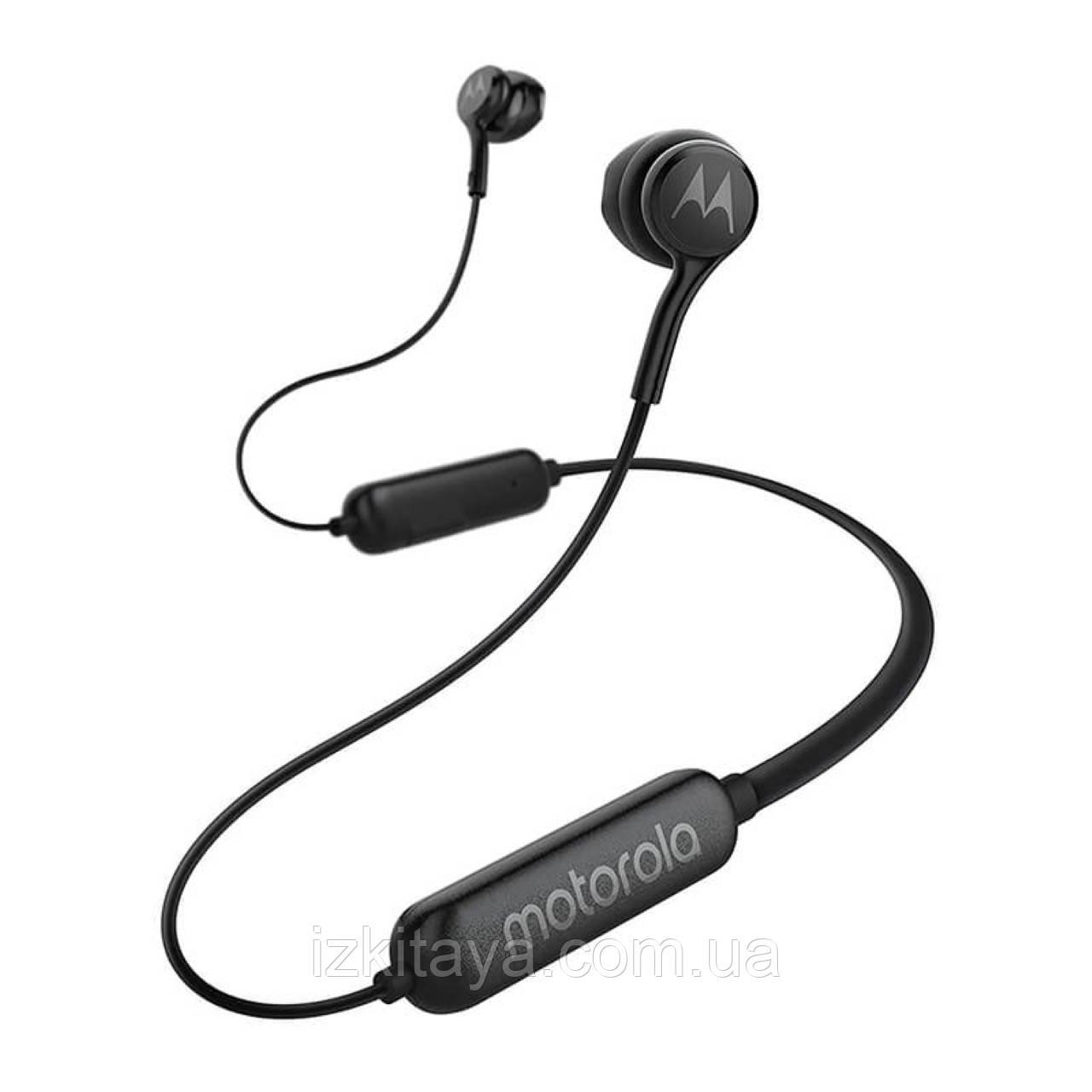Бездротові навушники Motorola VerveRap 105 Sport black