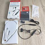 Бездротові навушники Motorola VerveRap 105 Sport black, фото 2