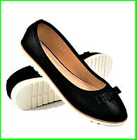 .Женские Балетки Черные Мокасины Туфли (размеры: 36,37,39,40) - 23