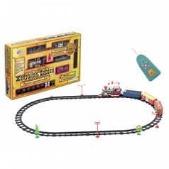 Залізниця Joy Toy 0620, поїзд + 3 вагони, на р/у