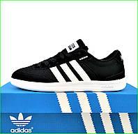 Кроссовки Мужские Adidas Neo Чёрные Адидас (размеры: 42,43,45) Видео Обзор