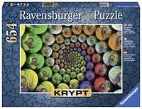 Пазлы крипт, Цветовая спираль, 654 элементов Ravensburger RSV-159826