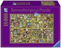 Пазлы на 18000 элементов Причудливый книжный магазин,  Ravensburger RSV-178254