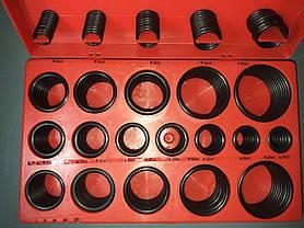 Набор из 394 едениц маслобензостойких уплотнительных резиновых колец для вращающихся валов TOPTUL JGEW394A, фото 3