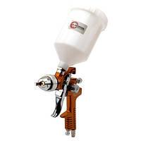 Фарборозпилювач InterTool HP BRONZE PROF з верхнім пласт.бачком (d-1,5мм,V-600мл,Р-до 5бар)
