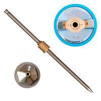 Набір форсунок LVLP  InterTool (d-1,4мм) 3 шт.