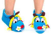Флисовые тапочки-игрушки с 25 по 45 размер