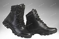 Військові демісезонні черевики / тактична, армійська спец взуття OVERLORD (black), фото 1