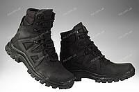 Демісезонні черевики тактичні/ армійська, військова спецвзуття FORPOST (black), фото 1