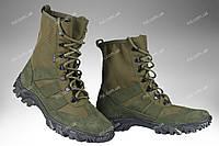 Берцы облегченные военные / армейская, тактическая спец обувь X Croc (olive), фото 1