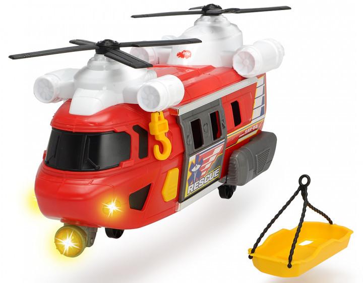 """Вертоліт """"Рятувальна служба"""" з лебідкою 30 см (звук і світло) Dickie Toys, 3+ (3306009)"""