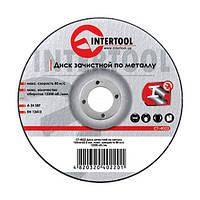Диск зачисний по металу InterTool 150х6,0х22,2 A 24 SBF