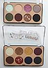 Палетка теней для век 8 оттенков DoDo Girl The Best Eyeshadow D3173 № 2 Блёстки золотые Синие Серые Сливовые, фото 5
