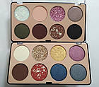 Палетка теней для век 8 оттенков DoDo Girl The Best Eyeshadow D3173 № 2 Блёстки золотые Синие Серые Сливовые, фото 3
