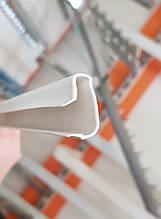 Вставка ПВХ для економпанелі 1000 мм біла