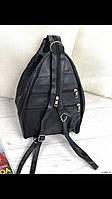 Сумка-рюкзак гитара женская из натуральной кожи, фото 1
