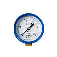 ДМ05050 (манометр d - 50 мм, для кисню)  2,5 мПа (25 атм), 2,5, кисень