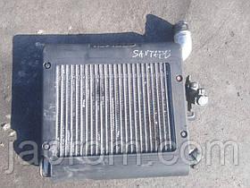Радиатор интеркулера Hyundai Santa Fe II 2006-2010г.в.
