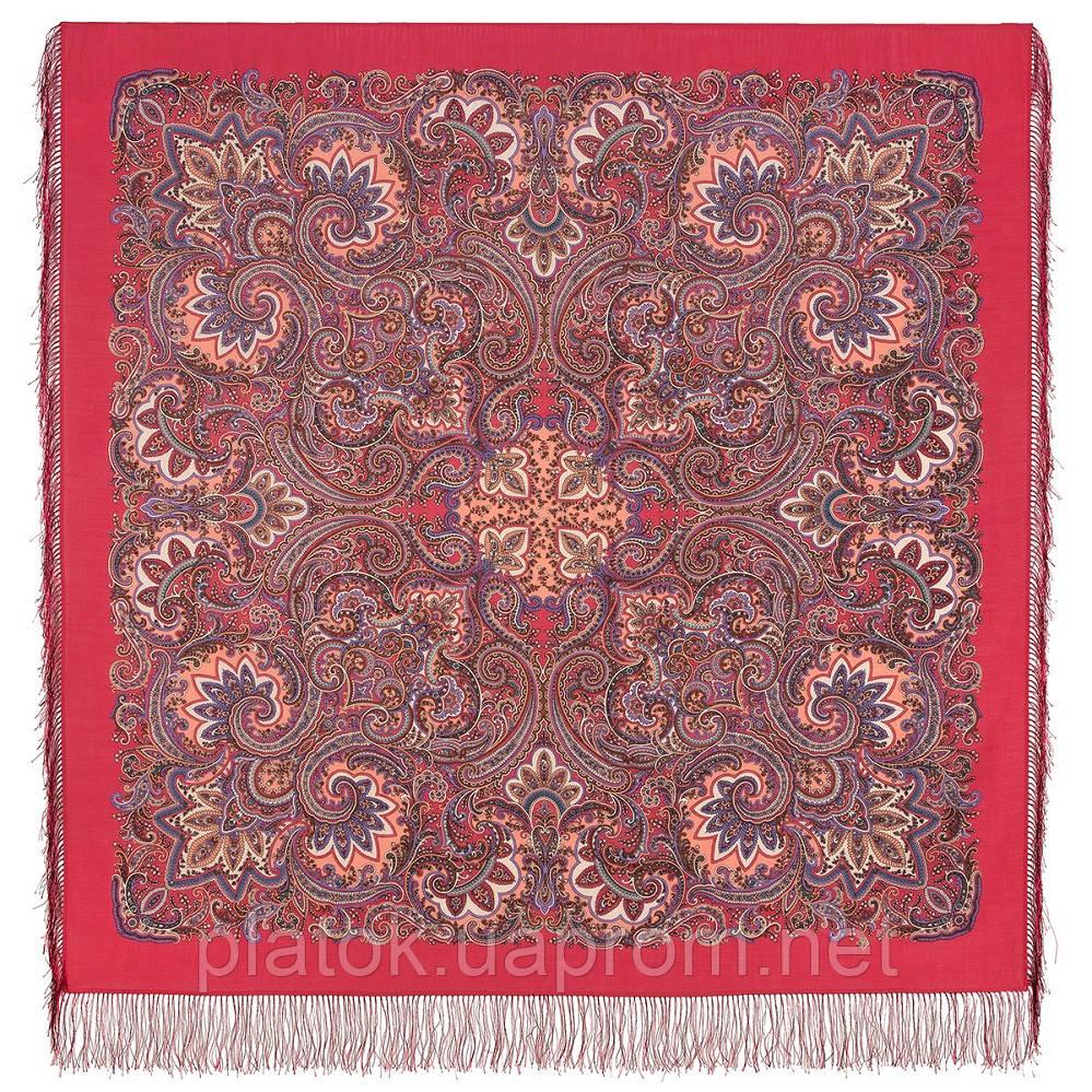 Ясно сонечко 1935-56, павлопосадский вовняну хустку з шовковою бахромою