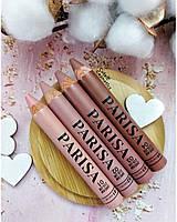 Матовая помада - карандаш для губ Parisa.