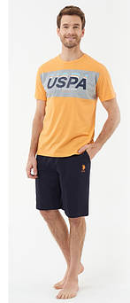 Мужская пижама (футболка и шорты) U.S. Polo ASSN 18403