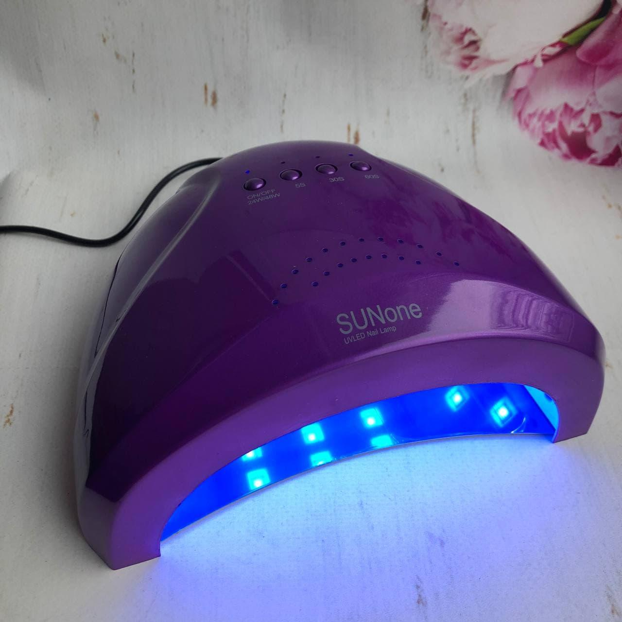 Лампа Sun One для сушки ногтей UV/LED 48 Вт