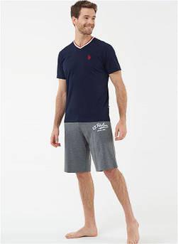 Чоловіча піжама (футболка і шорти) U. S. Polo ASSN 18411