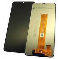 Дисплей Samsung A125F Galaxy A12 2020 с сенсором, черный GH82-24491 (оригинал 100%), фото 1
