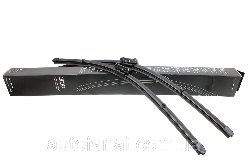 Щетки стеклоочистителя Audi Q8 (4M), SQ8 (4M) оригинальные передние (4M8998002B)