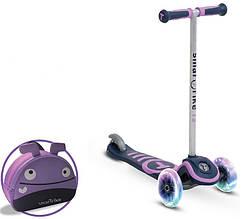 Самокат триколісний фіолетовий Scooter T3 Smart Тгіке