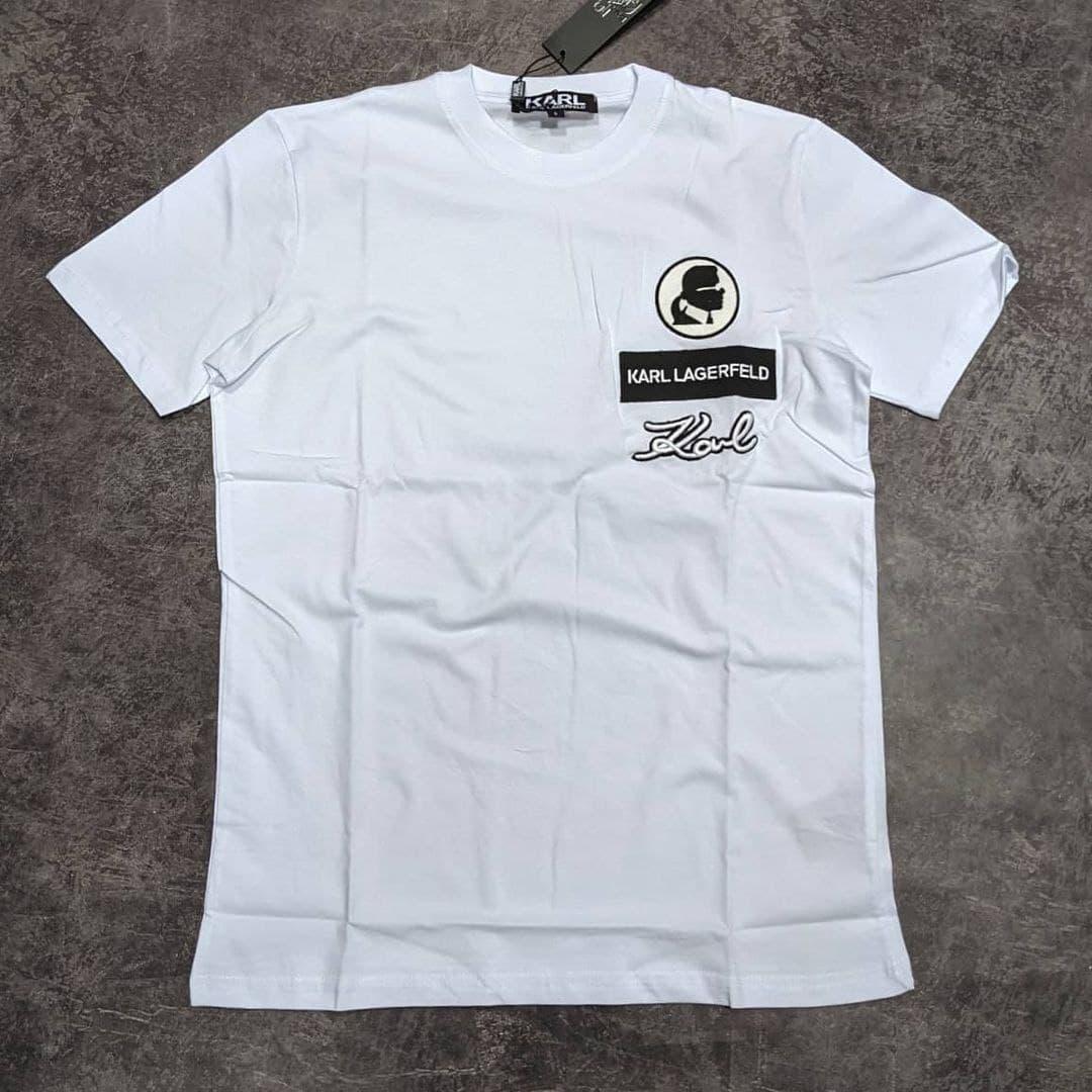 Мужская футболка Karl Lagerfeld CK2254 белая