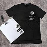 Мужская футболка Karl Lagerfeld CK2254 белая, фото 2