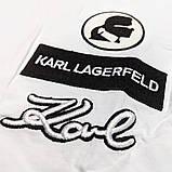 Мужская футболка Karl Lagerfeld CK2254 белая, фото 3