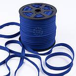 Кант из хлопка, цвет светло-синий, фото 2