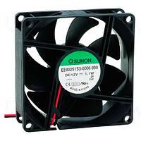 EE80251S3-999 (вентилятор DC, 80x80x25, 12V, sleeve, 56м3/год, 28дБ)