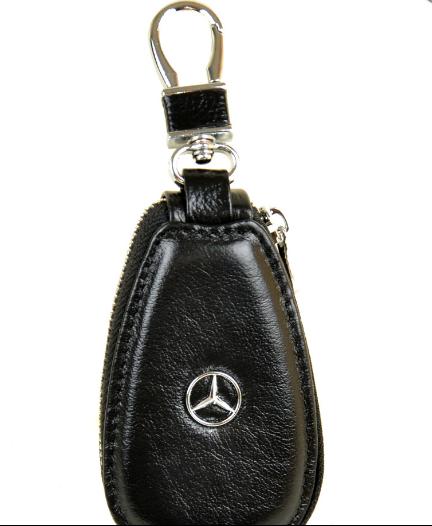 Автоключница шкіра Mercedes .