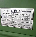 Фрезерний верстат BАUERLE SFM 2, фото 9
