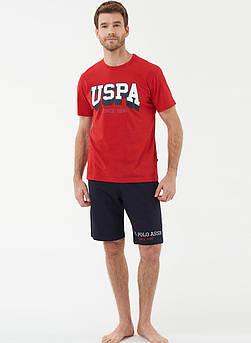 Піжама чоловіча з шортами U. S. Polo ASSN 18423
