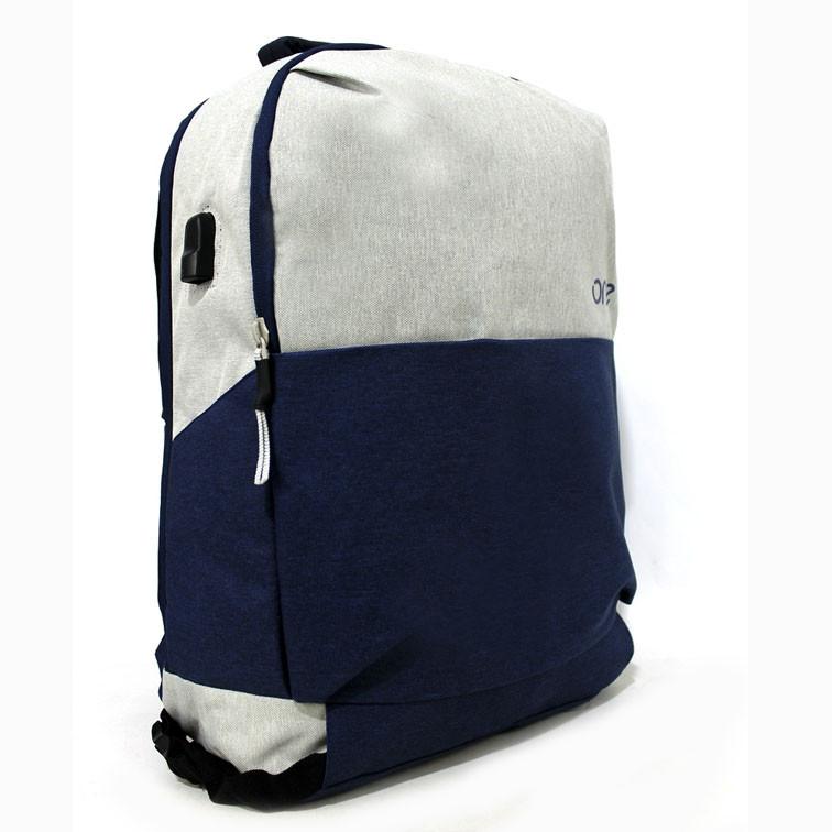 Качественный городской рюкзак с карманом для ноутбука и USB входом в разных цветах Размеры: 45х32х12