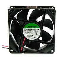 EE80252S1-A99 (вентилятор DC, 80x80x25, 24V, sleeve, 69,6м3/год, 33дБ)