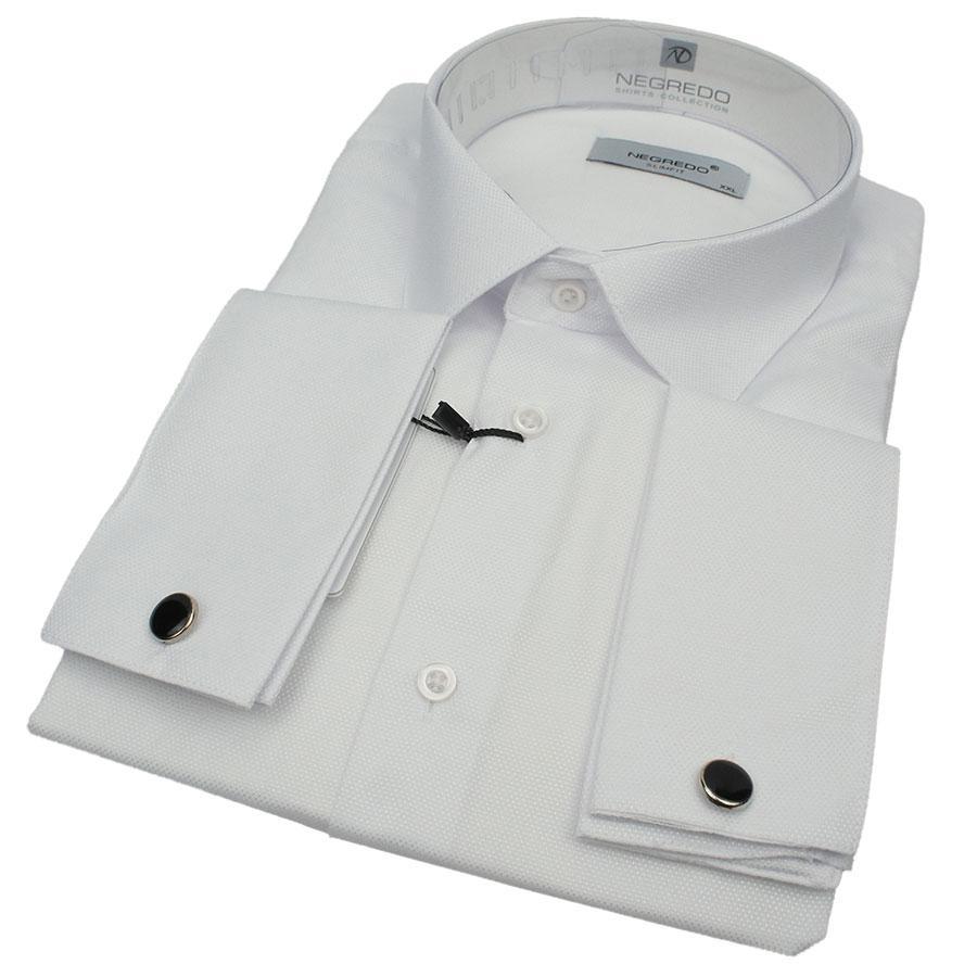 Бавовняна чоловіча сорочка під запонку Negredo 420-KD C: 245